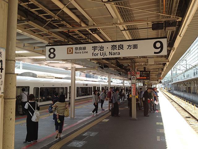 京都駅奈良線