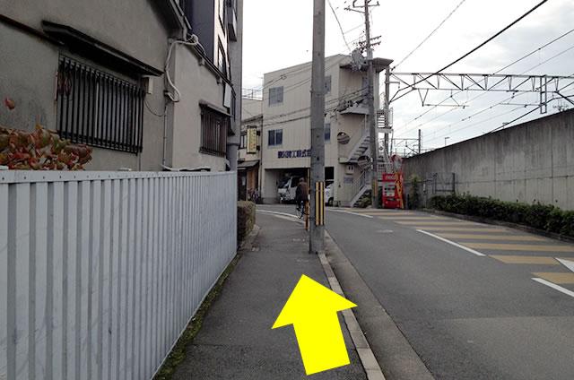 JR花園駅から東映太秦映画村への行き方04