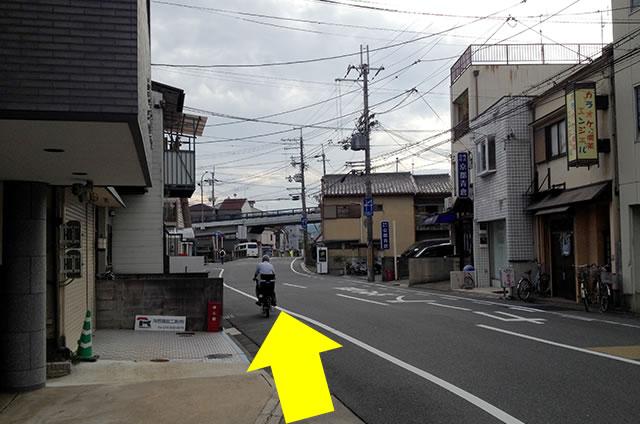 JR花園駅から東映太秦映画村への行き方05