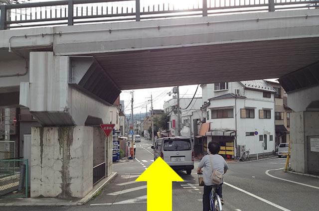 JR花園駅から東映太秦映画村への行き方07
