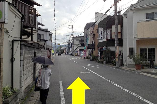 JR花園駅から東映太秦映画村への行き方09