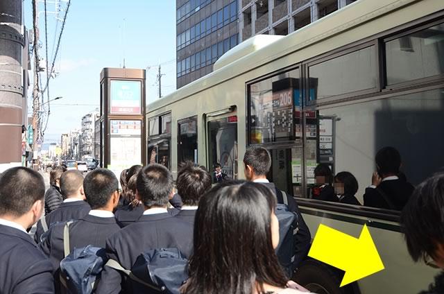 JR京都站到清水寺最快路线实景示意图05