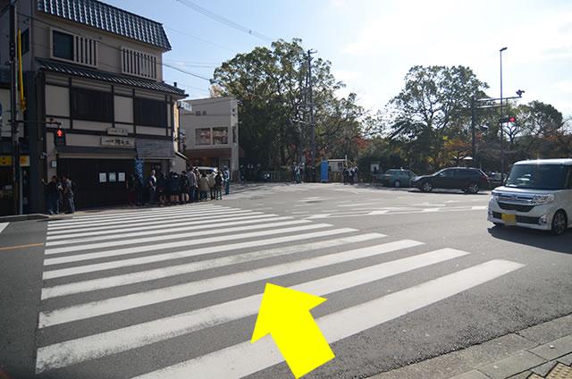JR京都站到清水寺最快路线实景示意图07