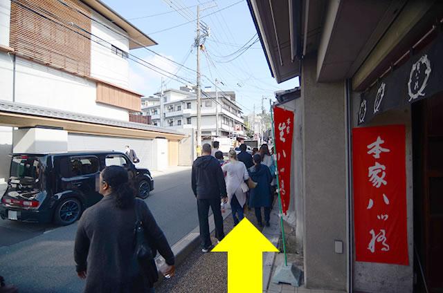 JR京都站到清水寺最快路线实景示意图09