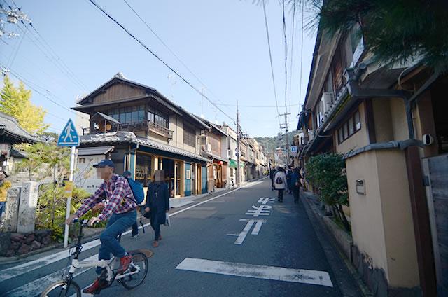 JR京都站到清水寺最快路线实景示意图11