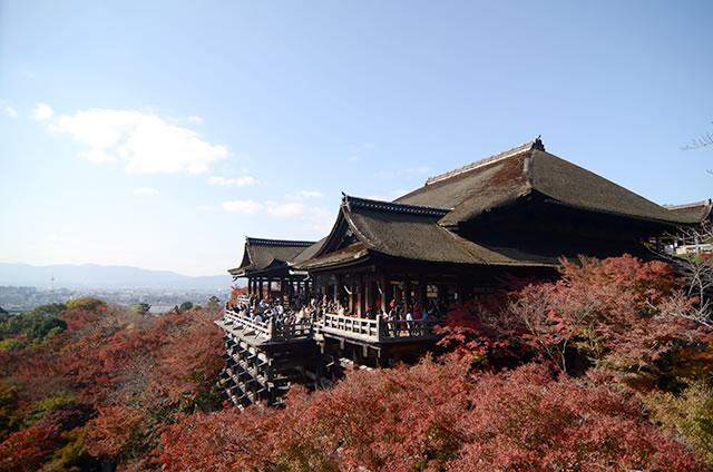 JR京都站到清水寺最快路线实景示意图08清水寺