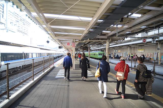 JR京都站到清水寺最快路线实景示意图25