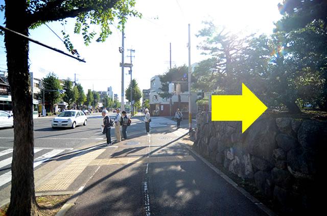 JR京都站到金阁寺的路线06
