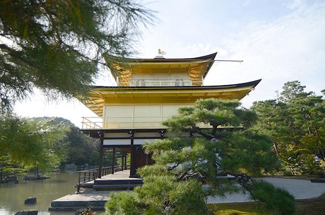 JR京都站到金阁寺的路线14