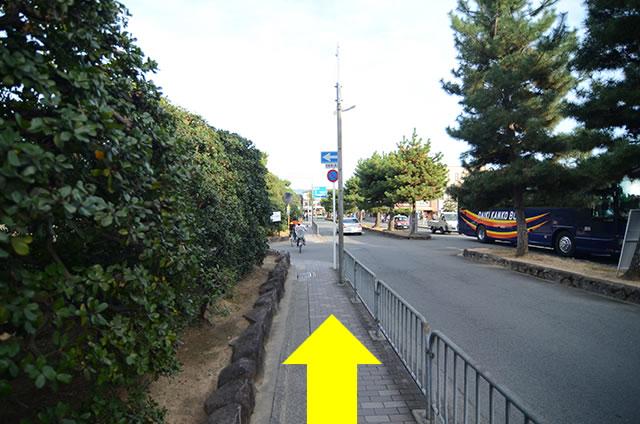离金阁寺最近的公交车站04