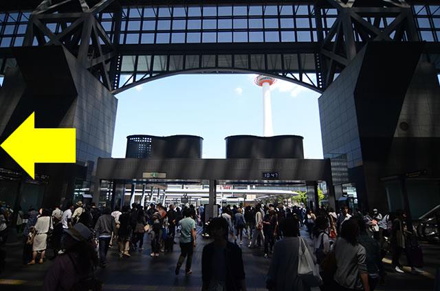 JR京都駅中央口改札