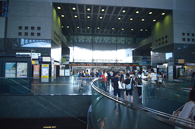 JR京都駅中央口(烏丸口)京都タワー側