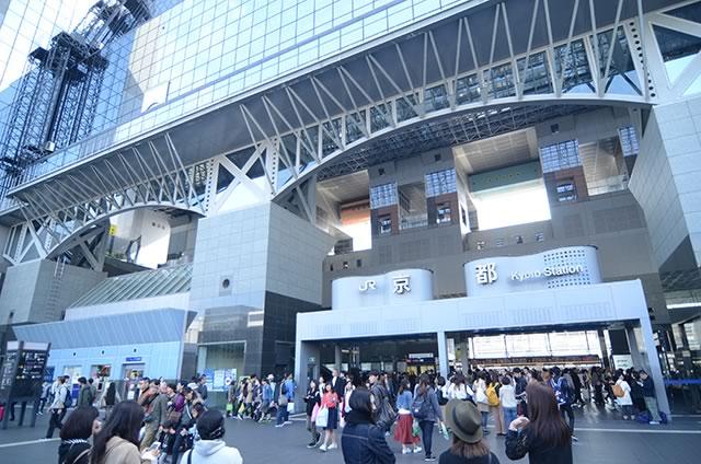 JR京都駅中央口(烏丸口)外観
