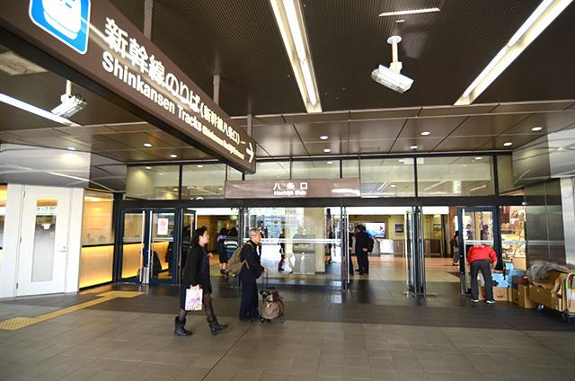 JR京都駅新幹線八条口入口