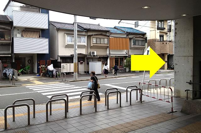 JR花園駅から東映太秦映画村への行き方03