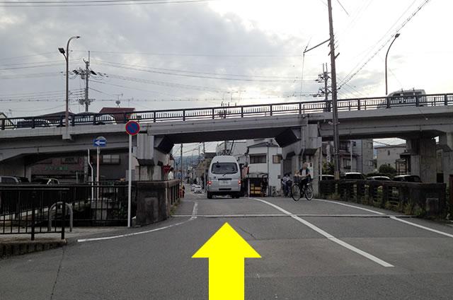 JR花園駅から東映太秦映画村への行き方06