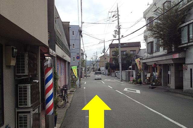 JR花園駅から東映太秦映画村への行き方08