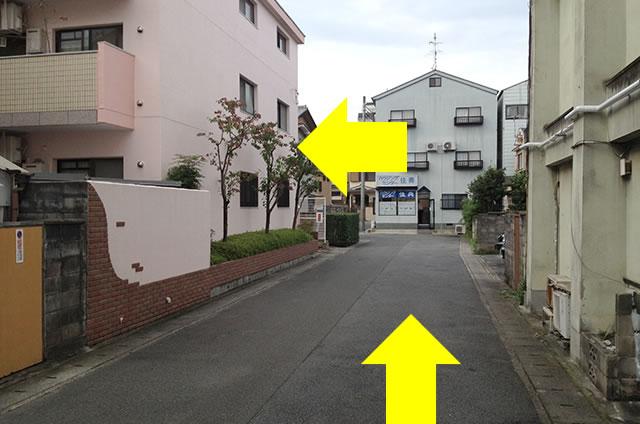JR花園駅から東映太秦映画村への行き方11