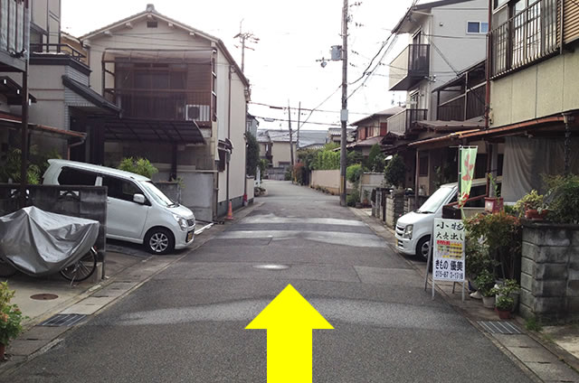 JR花園駅から東映太秦映画村への行き方14