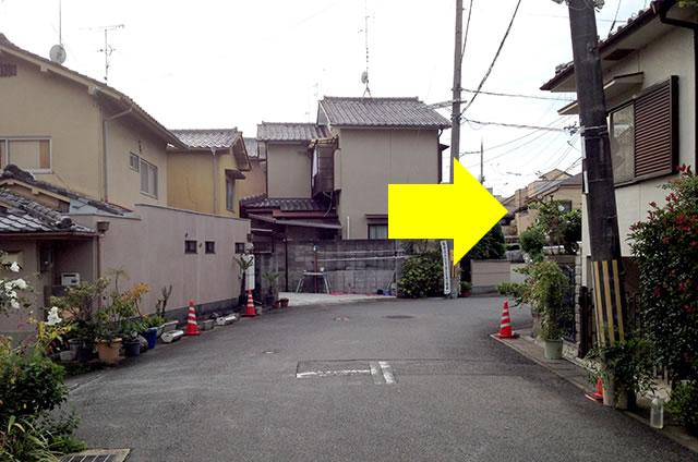 JR花園駅から東映太秦映画村への行き方15