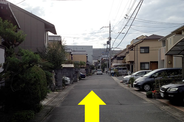 JR花園駅から東映太秦映画村への行き方17