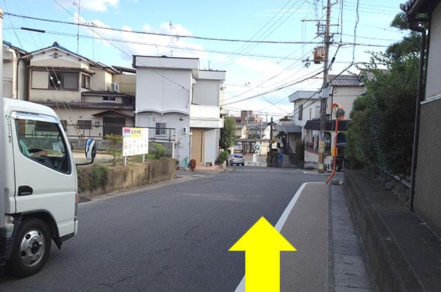 JR太秦駅から東映太秦映画村までの道順行き方06
