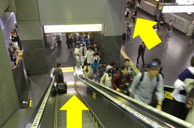 JR在来線から山陰線(嵯峨野線)への道順行き方04