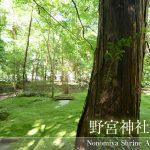 京都嵐山野宮神社