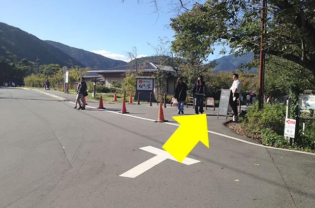 阪急嵐山駅から渡月橋から天龍寺までの行き方道順03
