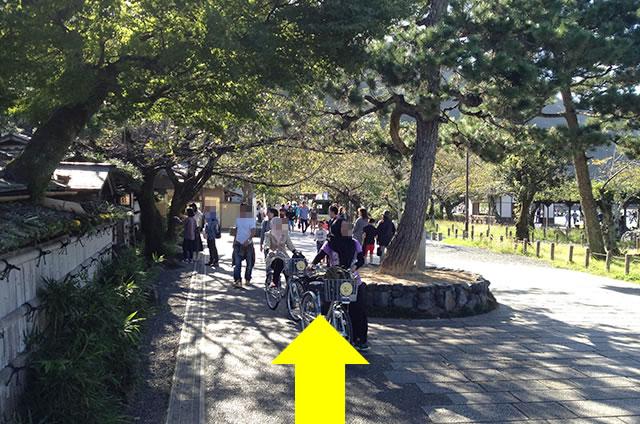 阪急嵐山駅から渡月橋から天龍寺までの行き方道順08