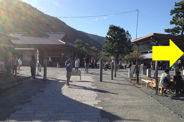 阪急嵐山駅から渡月橋から天龍寺までの行き方道順09