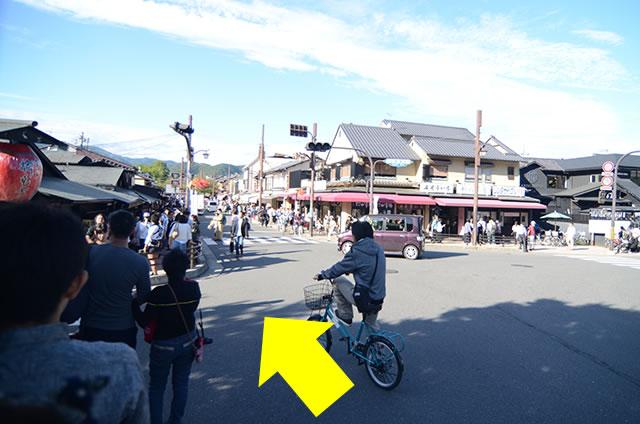阪急嵐山駅から渡月橋から天龍寺までの行き方道順11