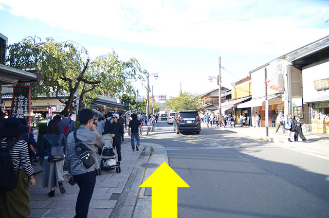 阪急嵐山駅から渡月橋から天龍寺までの行き方道順12