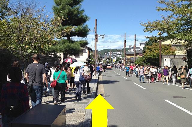 JR嵯峨嵐山駅から竹林の道を通って野宮神社への行き方道順02