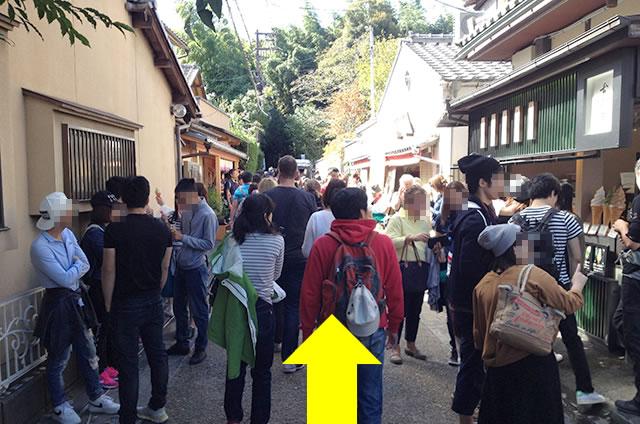 JR嵯峨嵐山駅から竹林の道を通って野宮神社への行き方道順04