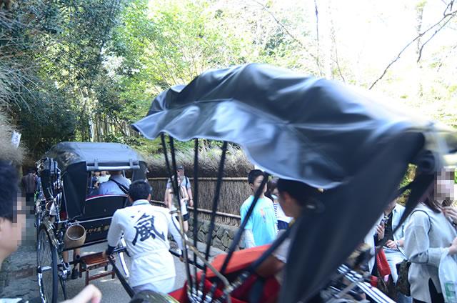 JR嵯峨嵐山駅から竹林の道を通って野宮神社への行き方道順05