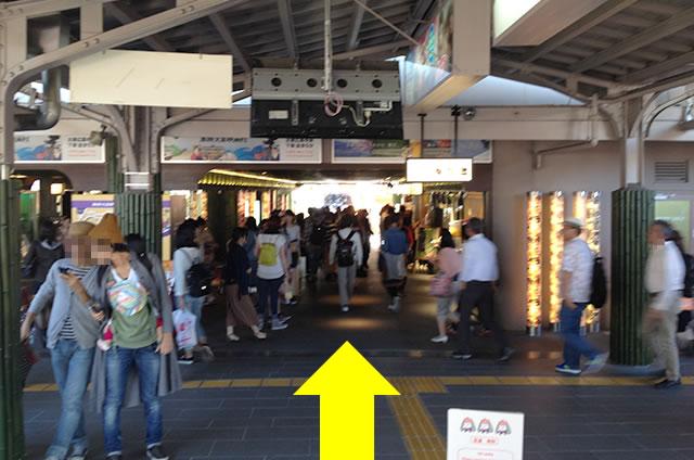 京福(嵐電)嵐山駅から天龍寺までの道順01