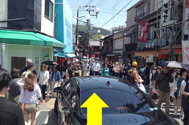 京阪の伏見稲荷駅から伏見稲荷大社への行き方道順02