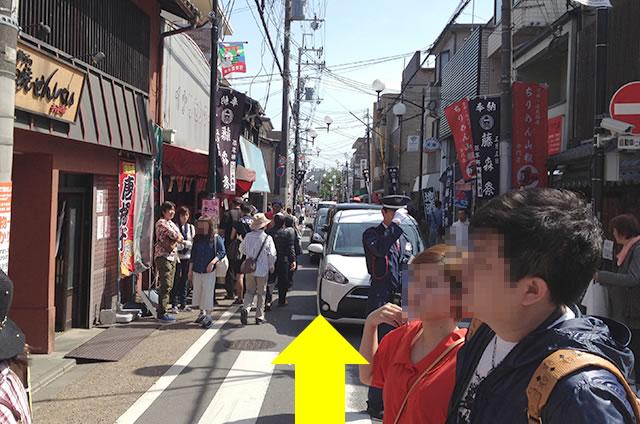 京阪の伏見稲荷駅から伏見稲荷大社への行き方道順04