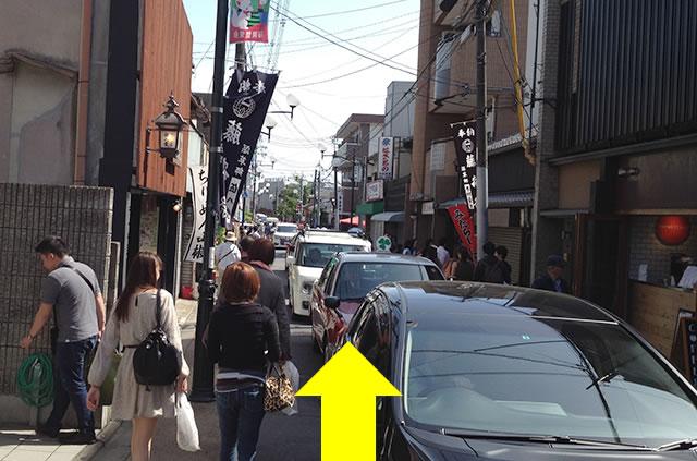 京阪の伏見稲荷駅から伏見稲荷大社への行き方道順05