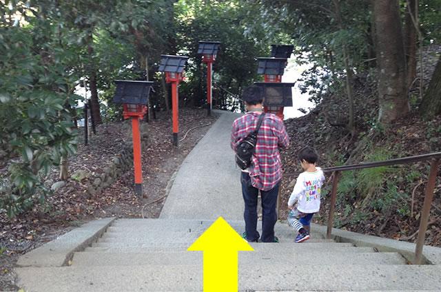 嵐山モンキーパークいわたやまからJR嵯峨嵐山駅トロッコ嵯峨駅への行き方道順01