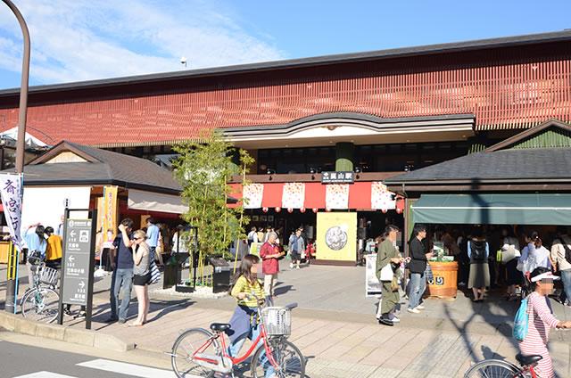 京福(嵐電)嵐山駅