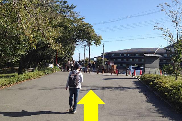 渡月橋から阪急嵐山駅までの行き方道順07