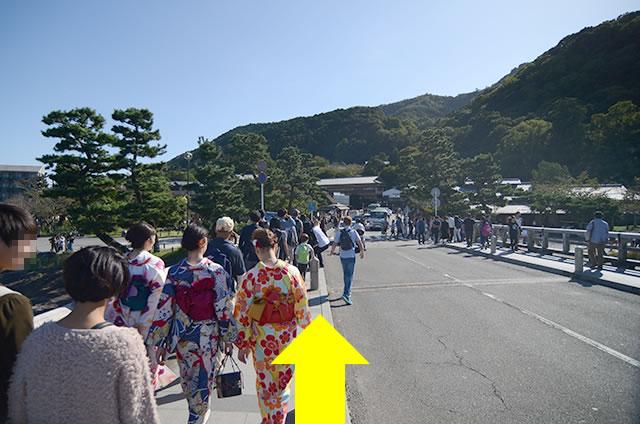 トロッコ嵐山駅から嵐山モンキーパークいわたまでの行き方道順20