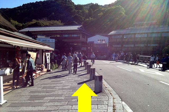 トロッコ嵐山駅から嵐山モンキーパークいわたまでの行き方道順22