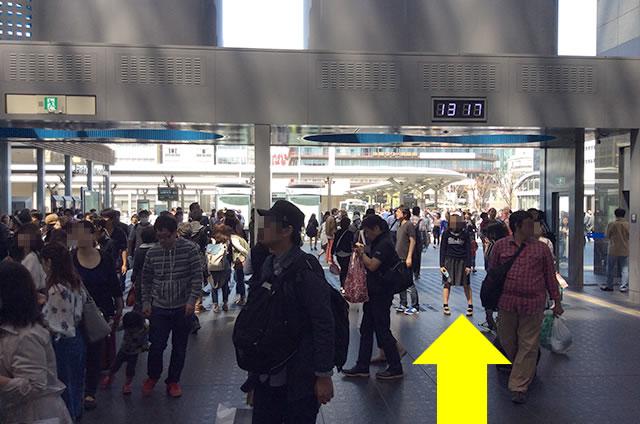 JR京都駅から清水寺までの最速アクセス行き方写真付01