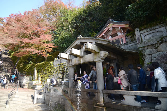 JR京都駅から清水寺までの最速アクセス行き方写真付23音羽の瀧