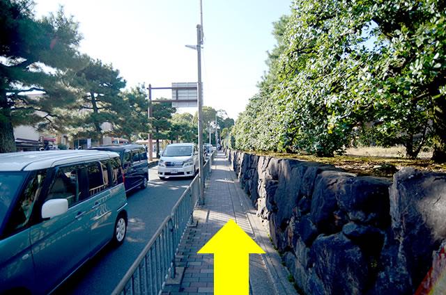 JR京都駅から金閣寺へのアクセス行き方道順07