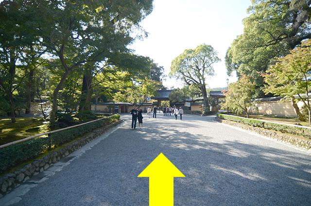 JR京都駅から金閣寺へのアクセス行き方道順11