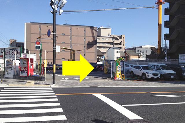 ホテルエルイン京都から京都駅改札口までの最速アクセス行き方07